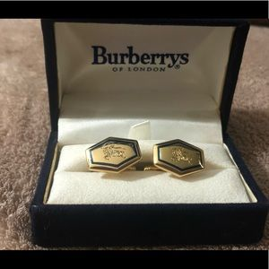 Burberry cuff links. NWT, $55 retail, vintage.